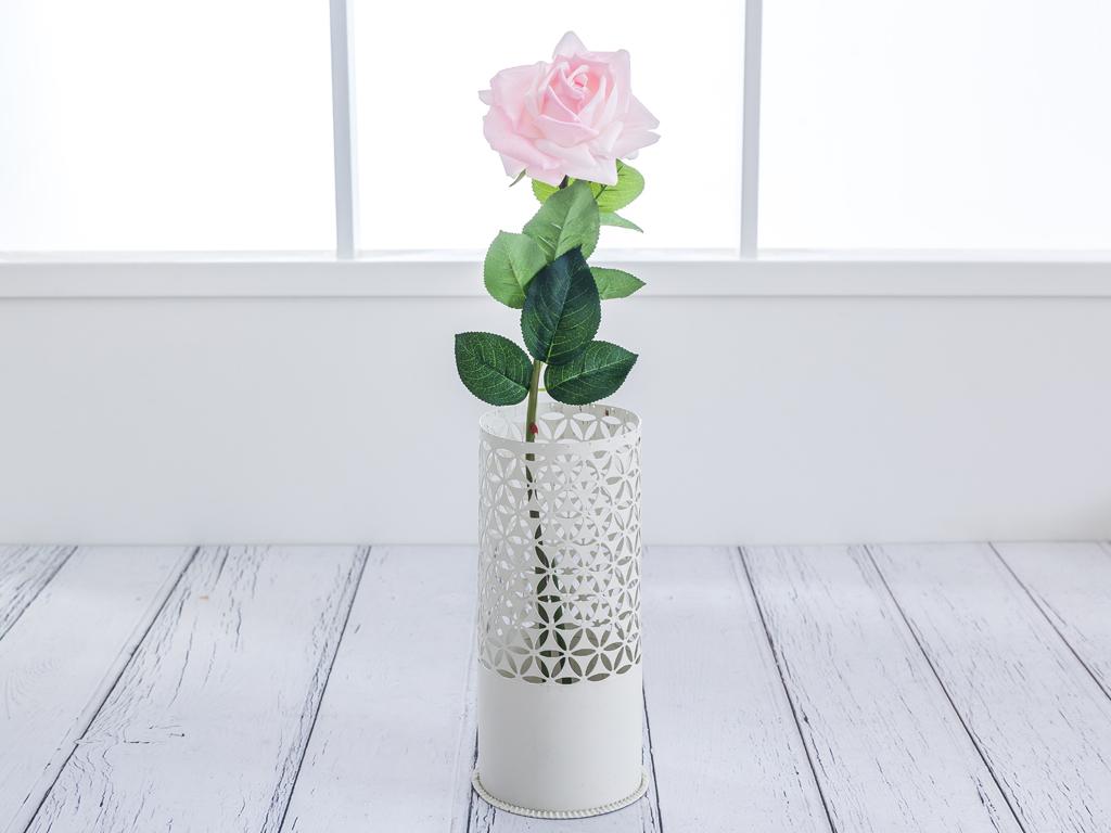 Garden Rose Yapay Çıçek 74 Cm Açık Pembe
