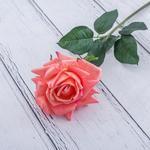 Garden Rose Yapay Çiçek 74 Cm Koyu Pembe