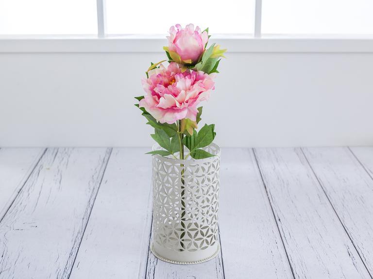 Peony 2 Head Yapay Çiçek 53 Cm Pembe