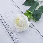 Rose Bud Yapay Çıçek 78 Cm Beyaz
