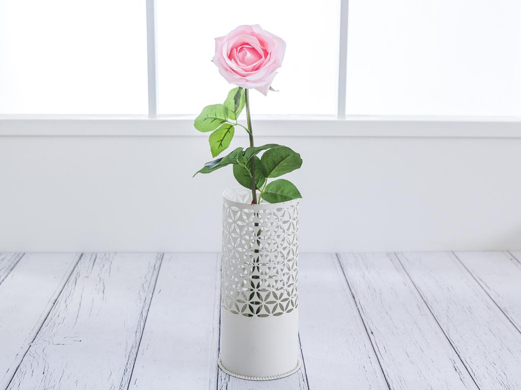 Rose Bud Yapay Çıçek 78 Cm Açık Pembe
