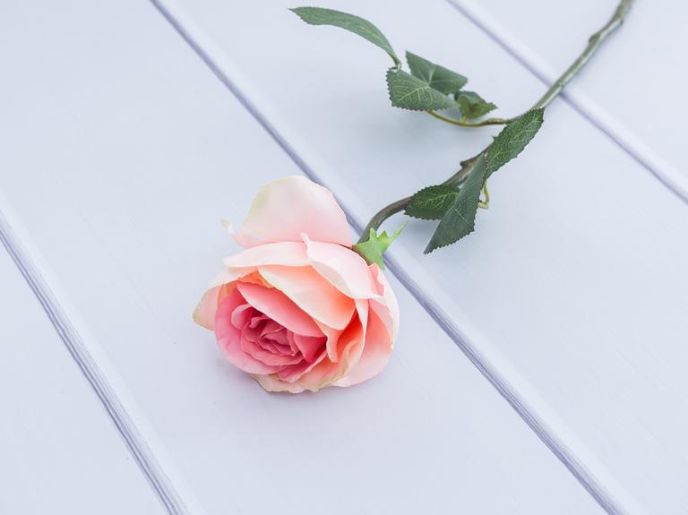 Rose Yapay Çiçek 56 Cm Pembe