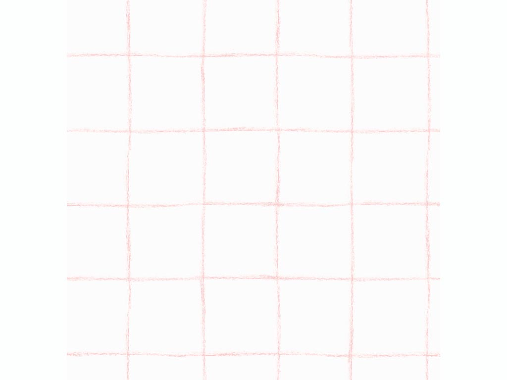 Squares Vinil Çocuk Duvar Kağıdı 53x1000 Cm Açık Pembe