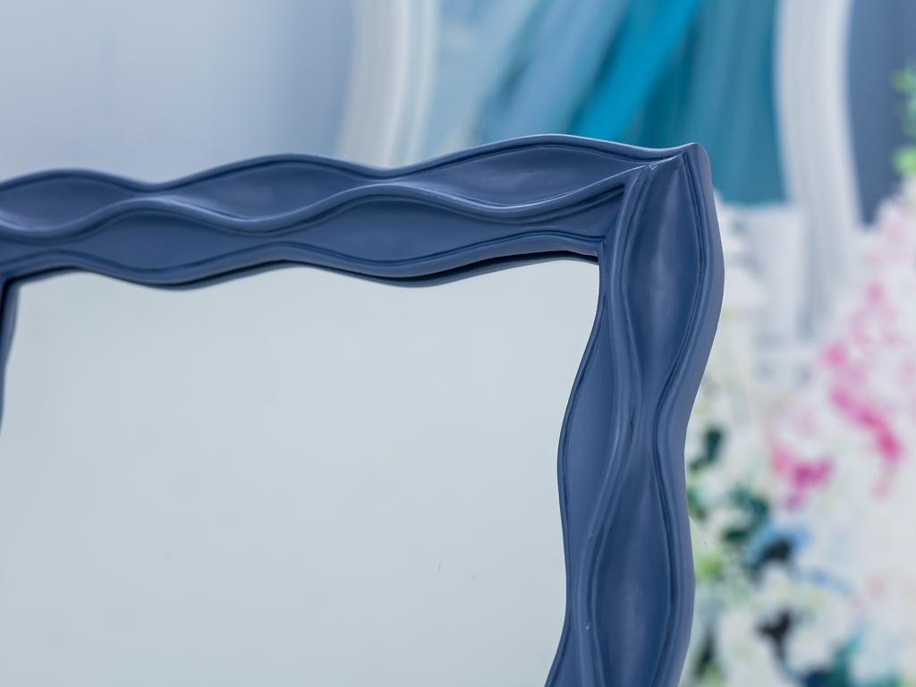 Dreamy Winter Polyresin Dikdörtgen Ayna 25,3x2,3x30,3 Cm Gri