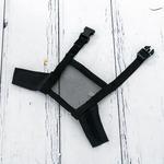 Muzzle Naylon Ağız Maskesı 10,0x10,5x2,0 Cm Siyah