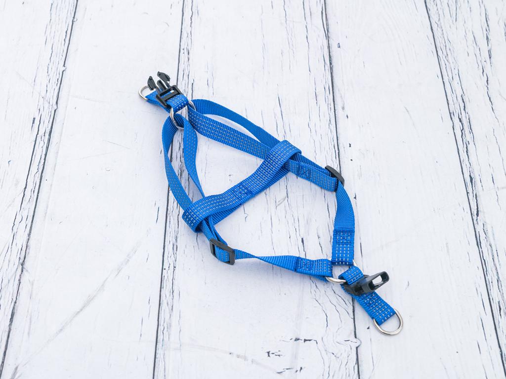 Harness Polyester Gövdelık Tasma Medium Mavi