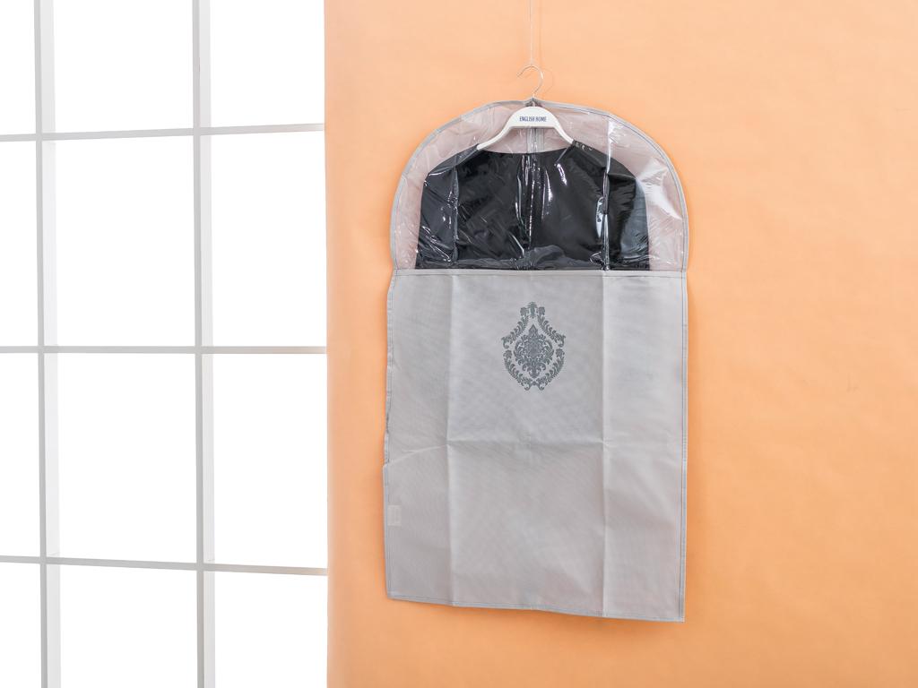 Damask Polyester Elbıse Kılıfı 60x135 Cm Taş Rengi