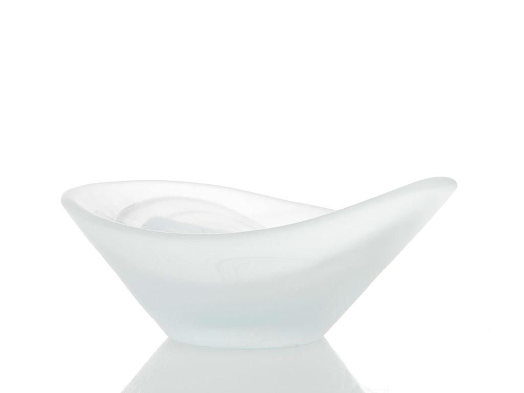 Flowery Cam Tekli Sosluk 5x12,5 Cm Beyaz