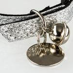 Collar Pu Kedı Tasması 1x31 Cm Gümüş
