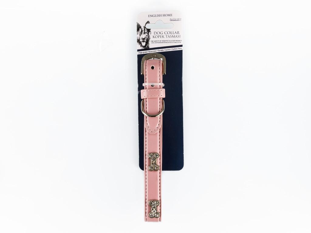 Collar Pu Tasma 1,9x45 Cm Açık Pembe