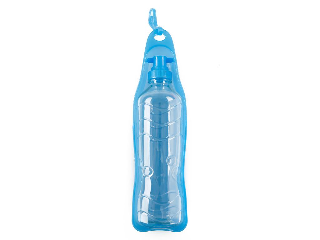 Bottle Pp Seyahat Su Kabı 6,5x26,5x24,5 Cm Mavi