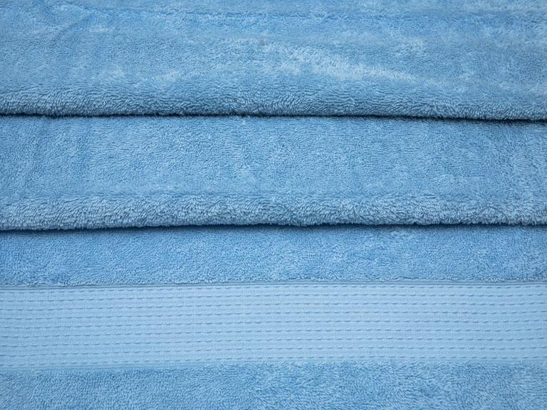 Pure Basic Banyo Havlusu 100X150 Cm Mavi