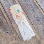 Beach Baskılı Plaj Havlusu 70x150 Cm Renkli