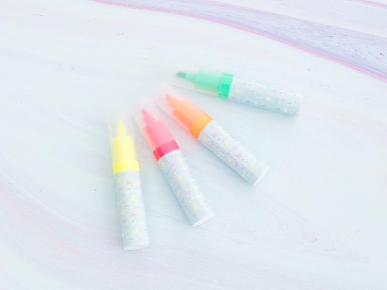 Unicorn Plastik Kalem 11x15x1 Cm Mint - Lila - Pembe