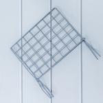 Elegant Metal Gazetelik 34x29,5x27,5 Cm Gri