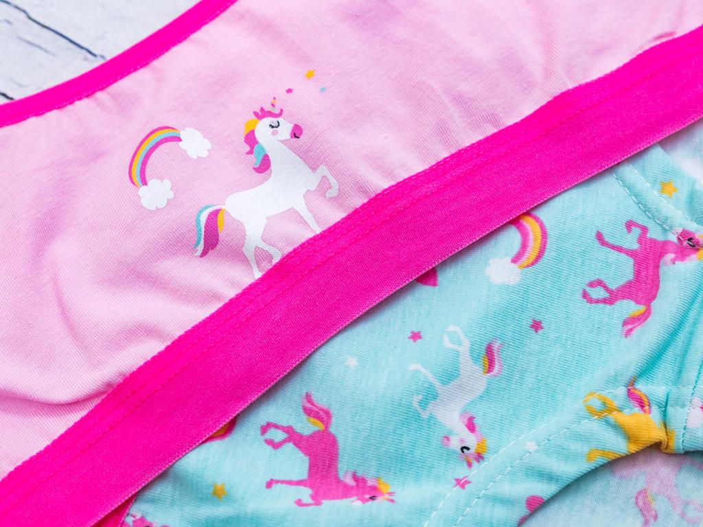 Unicorn Pamuk Kız Çocuk İç Çamaşır Takımı 5-6 Yaş Pembe