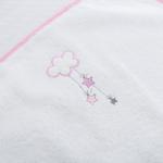 Swan Nakışlı Bebe Alt Açma Yedek 40x66 Cm Pembe