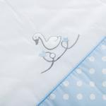 Swan Pamuklu Bebe Uyku Tulumu 0-6 Ay Mavi