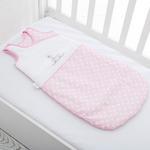 Swan Pamuklu Bebe Uyku Tulumu 6-12 Ay Pembe