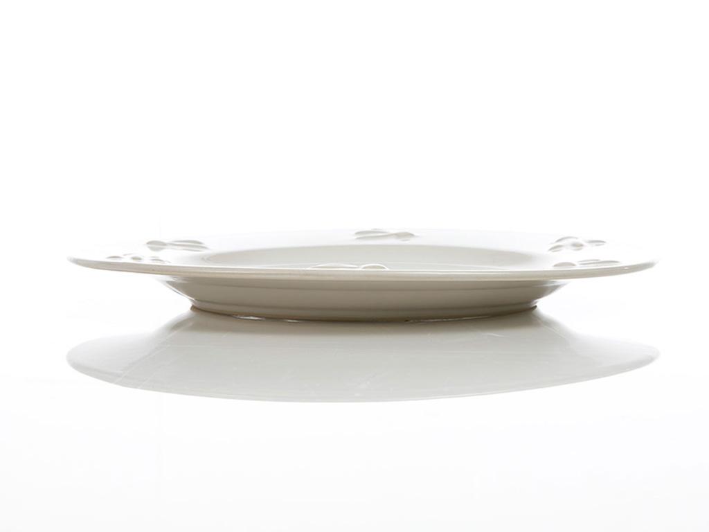 Golden Life Stoneware Servıs Tabağı 25,5x2,5cm Krem