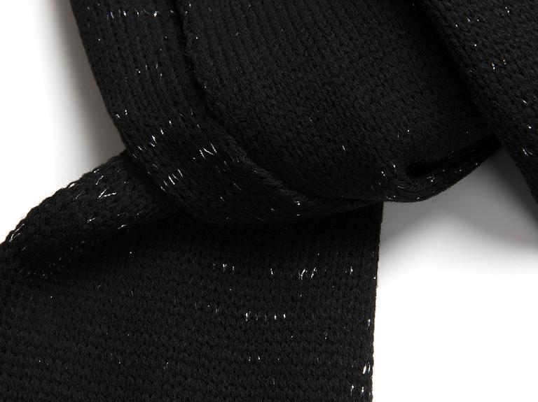 Black Magic Atkı Standart Siyah