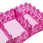 Paisley Polyester 30x15x8 Cm Fuşya