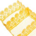 Paisley Polyester 30x15x8 Cm Sarı