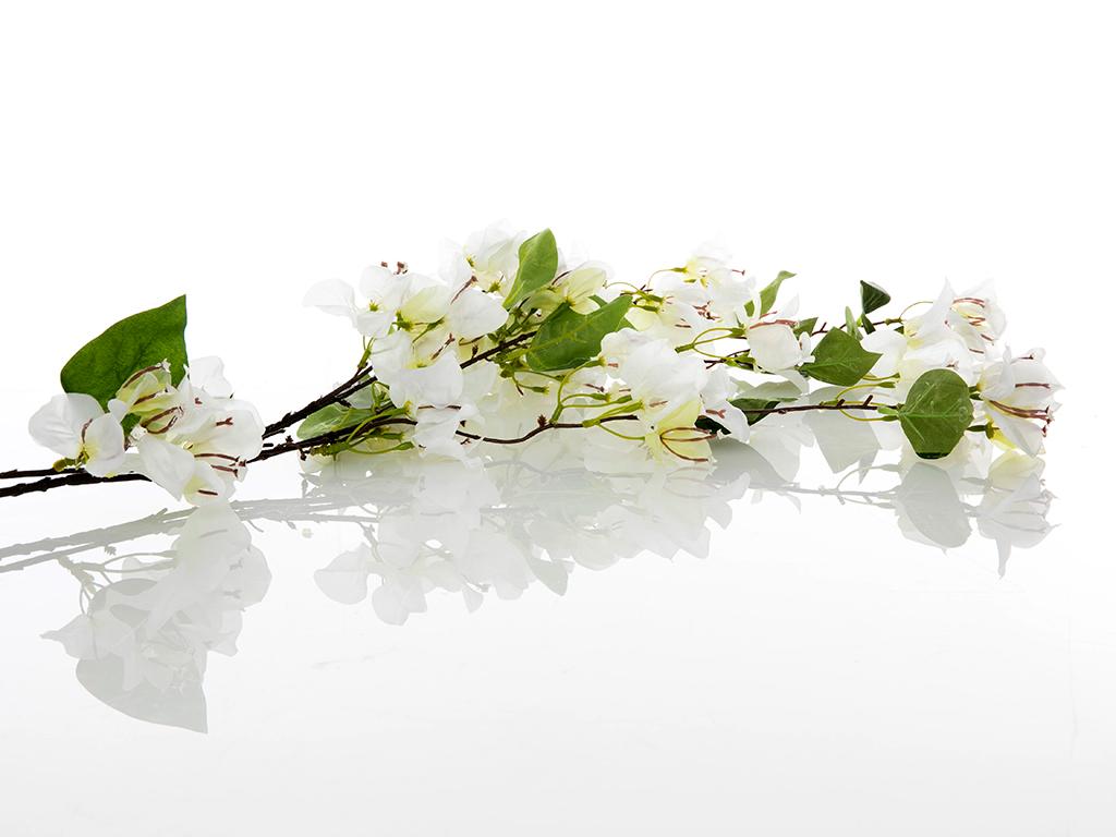Bougainvillea Yapay Çiçek 155 Cm Beyaz