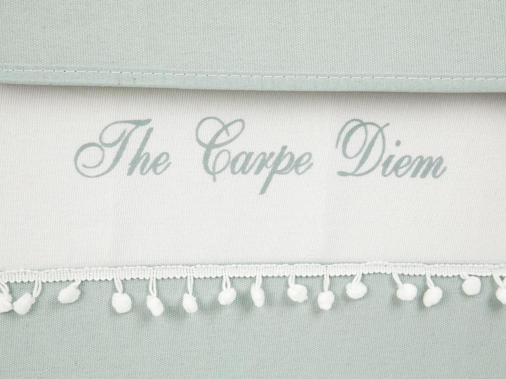 Carpe Diem Polyester 40x30x50 Cm Açık Mavi