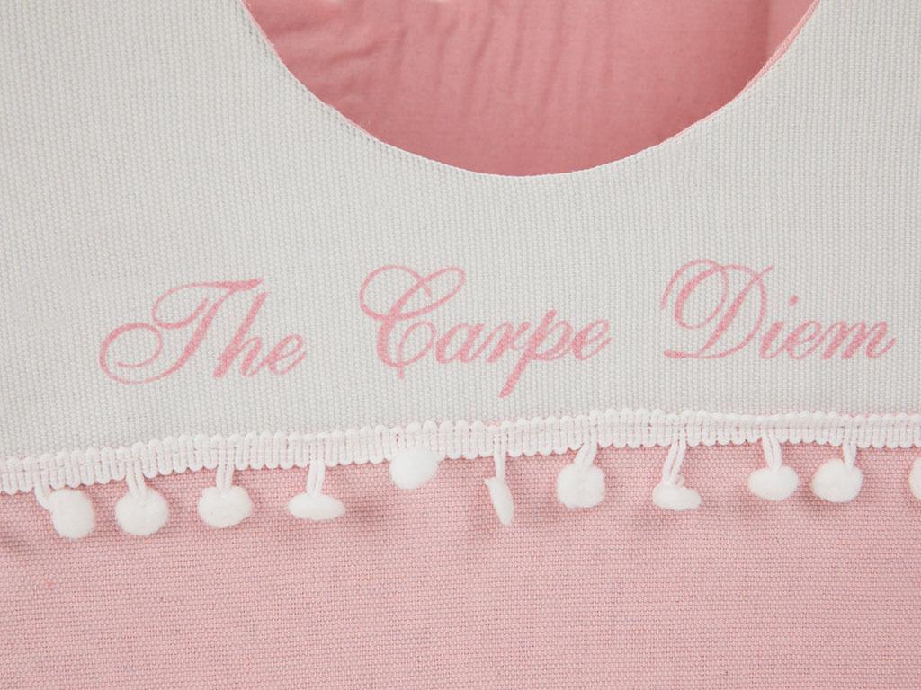 Carpe Diem Polyester 32x32x26 Cm Açık Pembe
