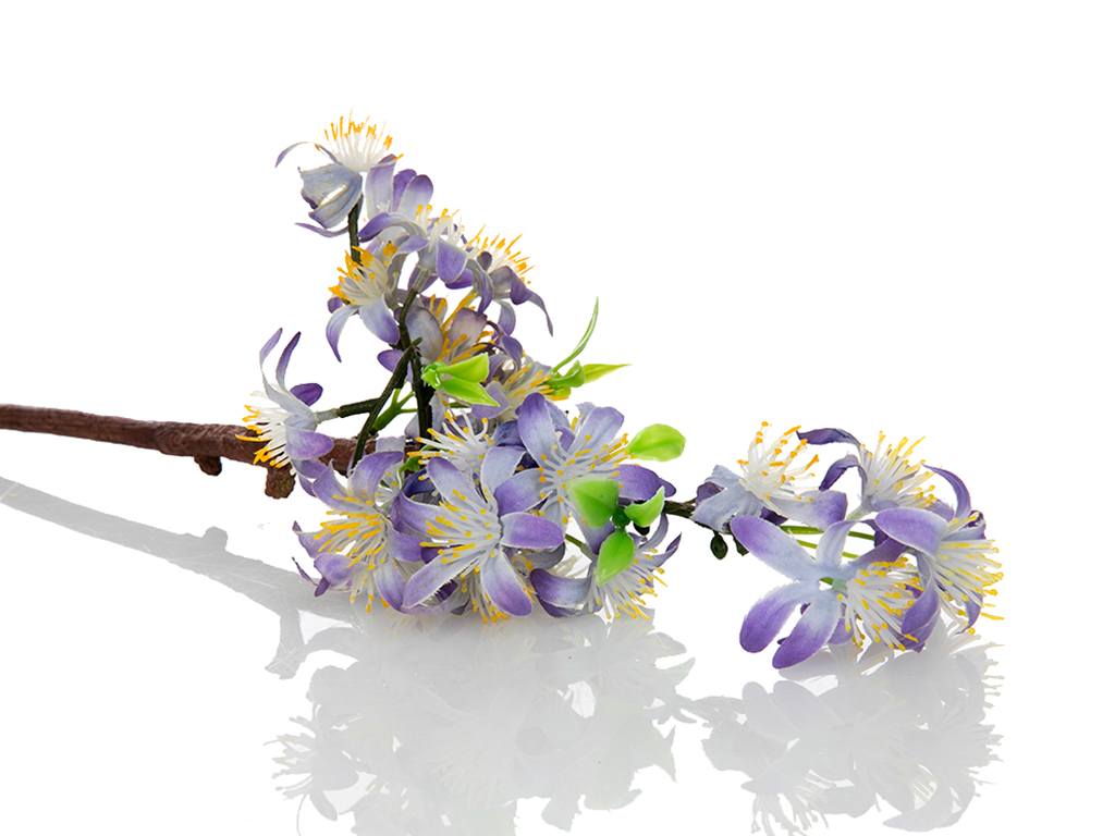 Lemon Blossom Yapay Çıçek 46 Cm Mor
