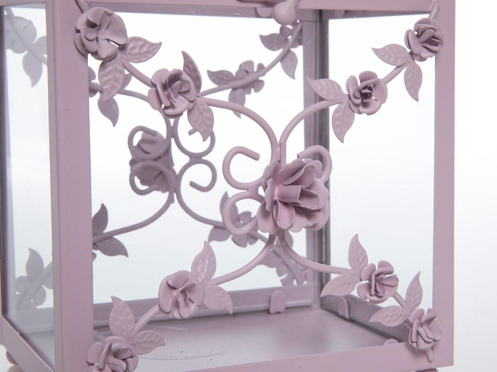 Fancy Roses Fener 16x14x25,5 Cm Pembe