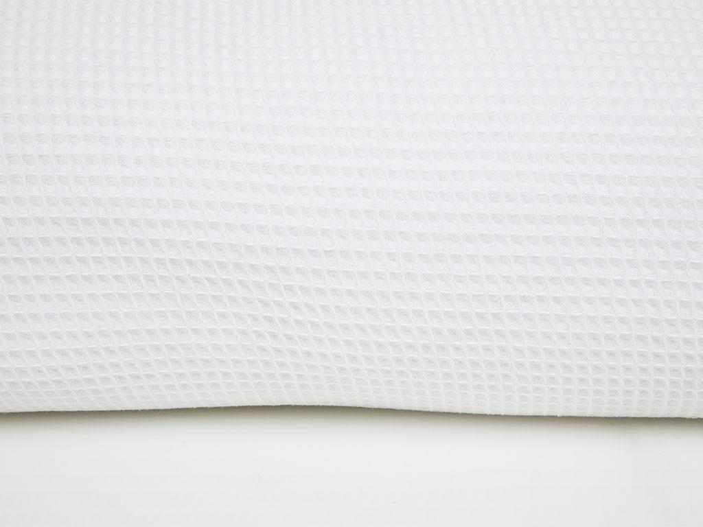 Chic Kopanakili Çift Kişilik Pıke 220x240 Cm Beyaz