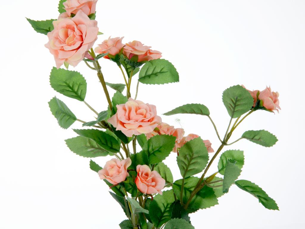 Rose Yapay Çıçek 72 Cm Açık Pembe