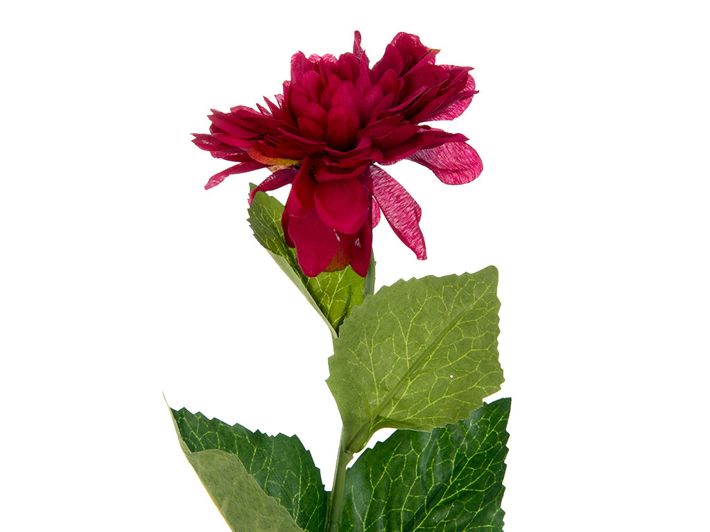 Dahlia Yapay Çıçek 53 Cm Fuşya