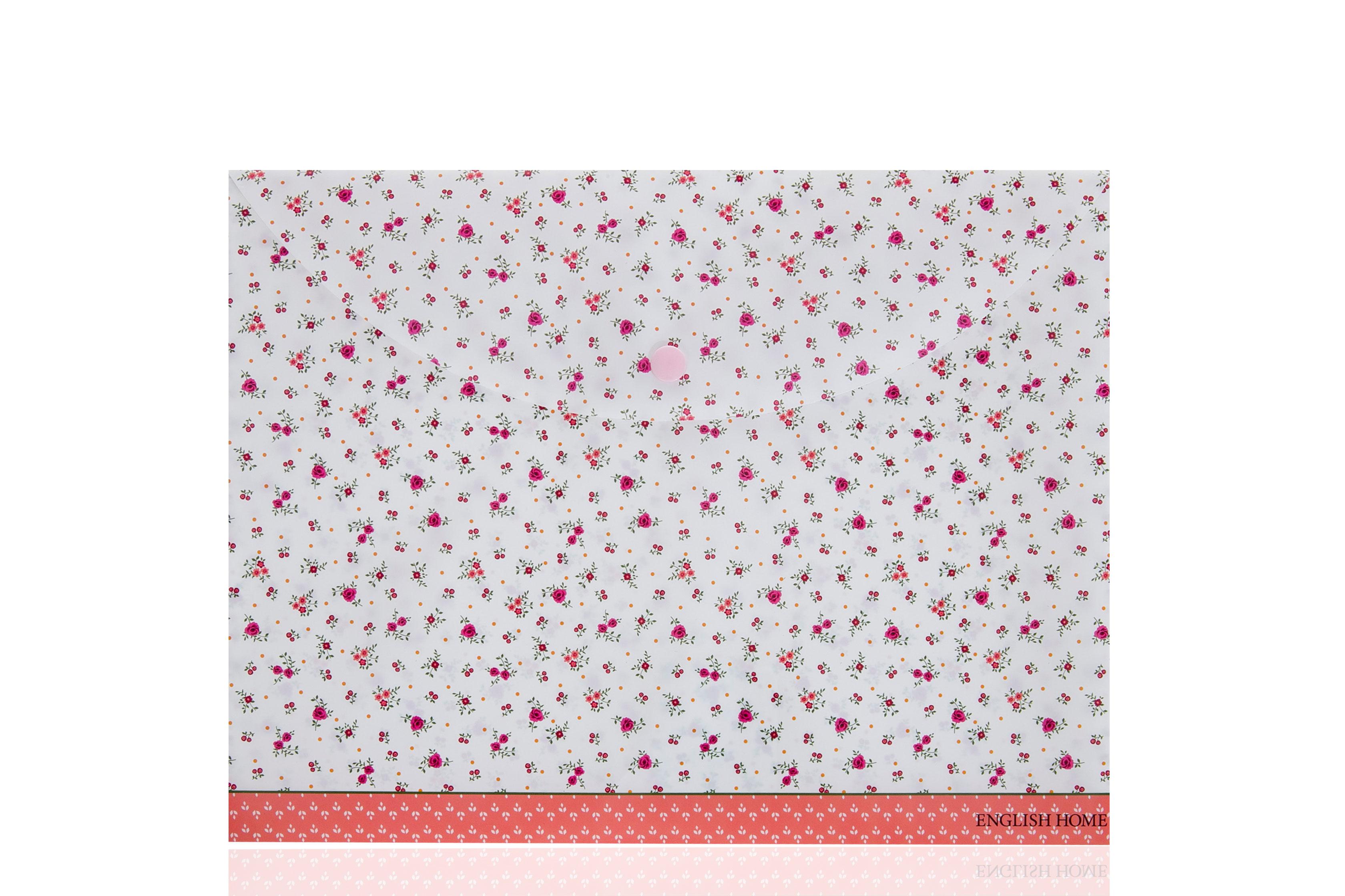 Rosey Çıtçıtlı Dosya 24x33 Cm Beyaz