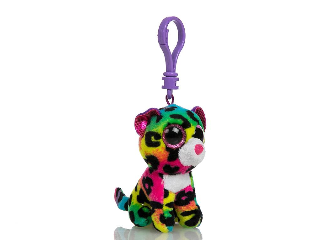 Tiger Peluş Anahtarlık 10 Cm Renkli