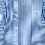 Blue Frill Fırfırlı Peştamal 100x180 Cm Mavi