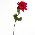 Velvet Rose Yapay Çıçek 62 Cm Bordo