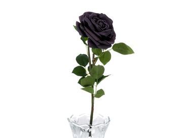 Glam Rose Yapay Çiçek 75 Cm Açık Gri