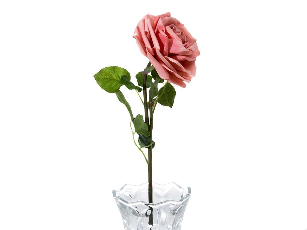 Glam Rose Yapay Çiçek 75 Cm Pembe