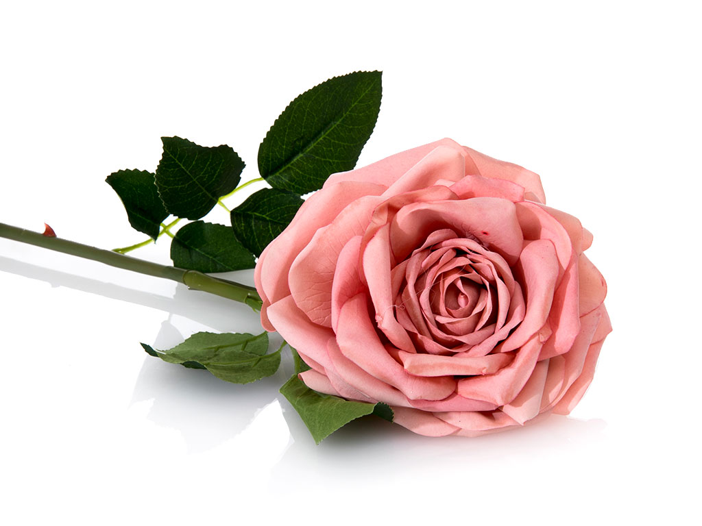 Glam Rose Yapay Çıçek 75 Cm Pembe