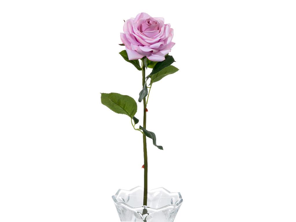 Glam Rose Yapay Çıçek 53 Cm Açık Mor