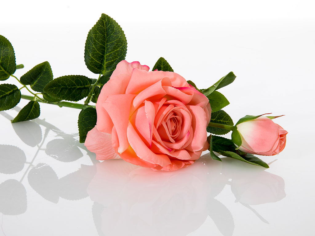 Precious Rose Yapay Çıçek 64 Cm Pembe