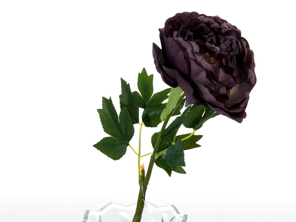 Peony Yapay Çiçek 45 Cm Mor