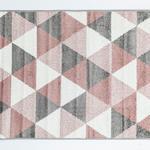 Trio Polyolefin Halı 100x150 Cm Renkli