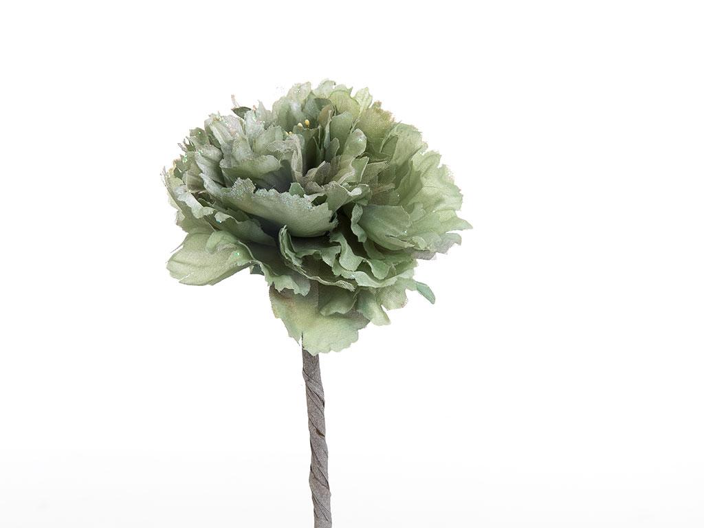 Flora Polyester Yapay Çiçek 65 Cm Su Yeşili