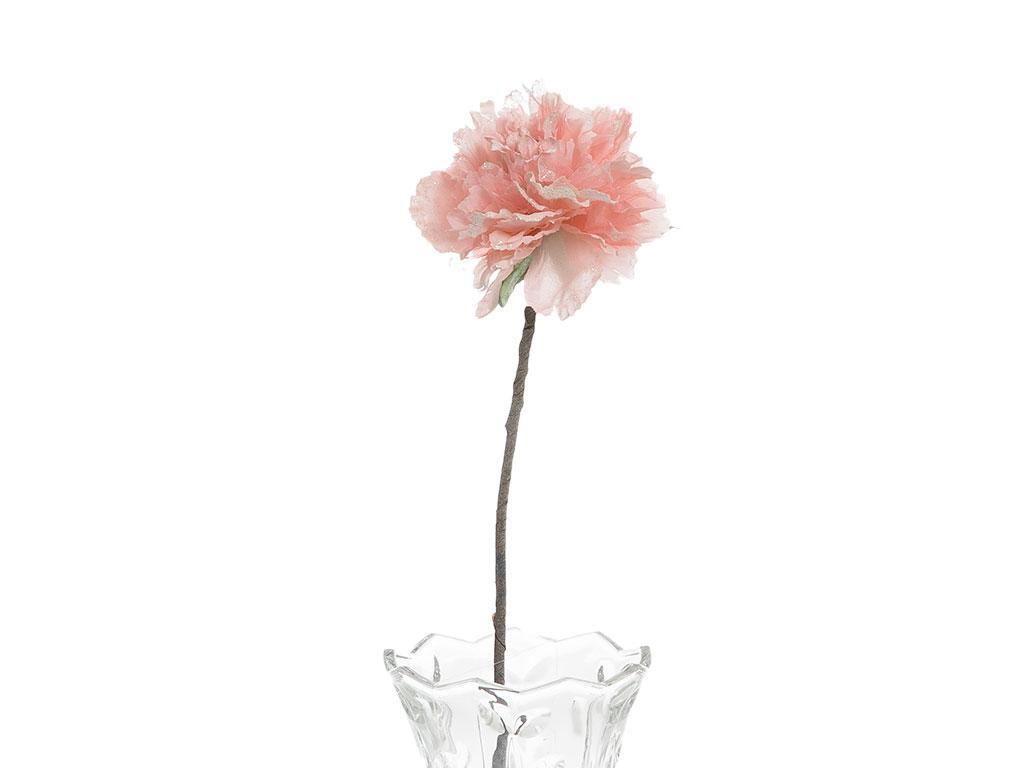 Flora Polyester Yapay Çiçek 65 Cm Kırmızı
