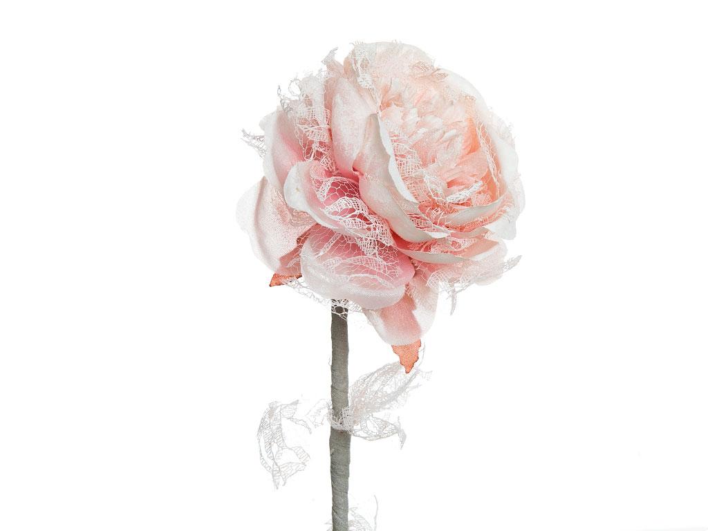 Rosse Polyester Yapay Çıçek 65 Cm Açık Pembe