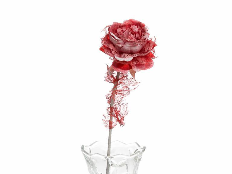 Rosse Polyester Yapay Çiçek 65 Cm Kırmızı